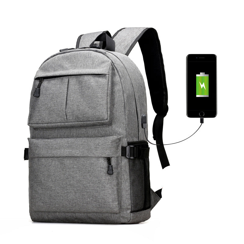 Nylon Backpack Grey