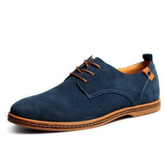 CASUAL SUEDE DERBY SHOES QS
