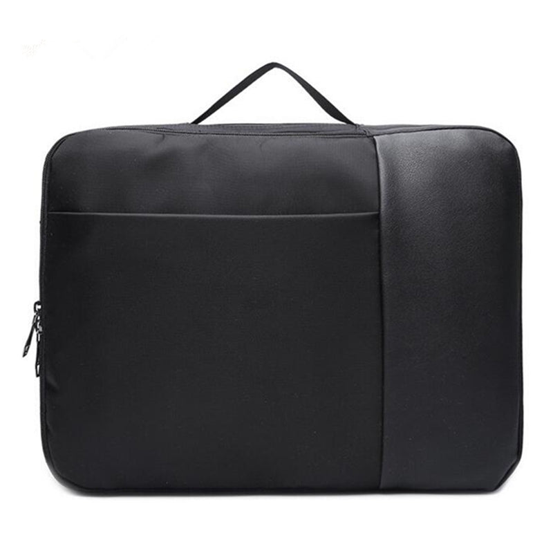 2-In-1 Laptop Briefcase Convertible Backpack Black