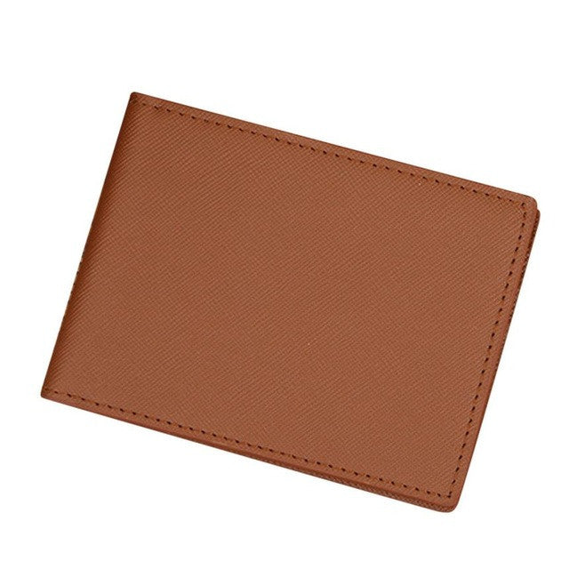 Men's Slim Card Wallet Coffee
