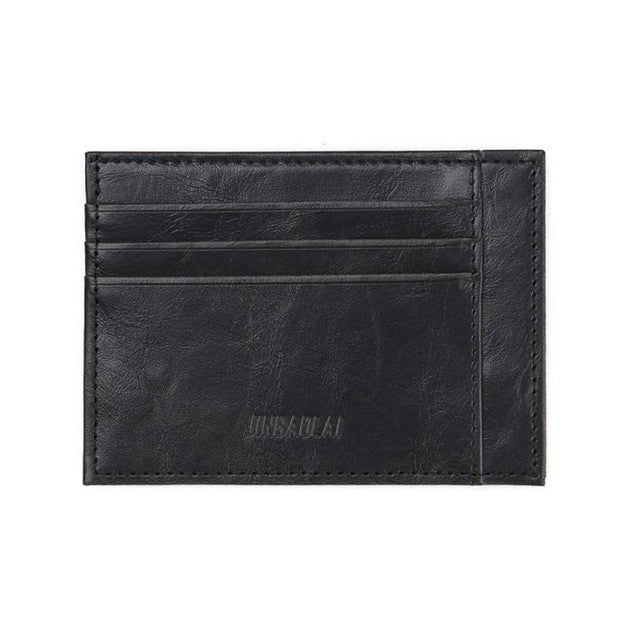 Men's Card Case Black
