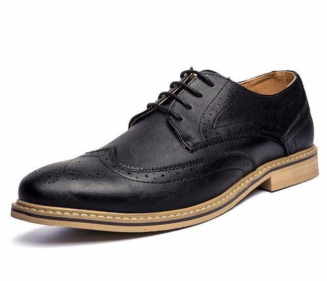 Wingtip Oxfords Black