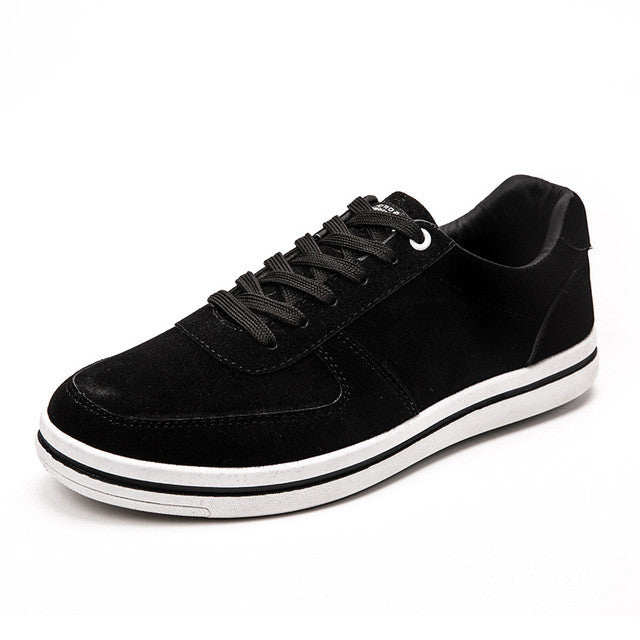 Suede Low-top Sneaker Black