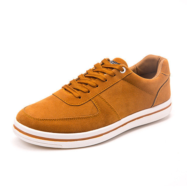 Suede Low-top Sneaker Mustard