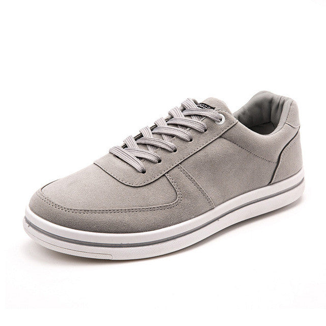 Suede Low-top Sneaker Grey
