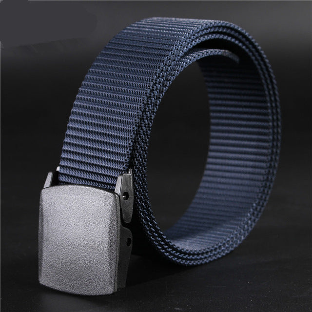 3.8cm Men's Nylon Blue