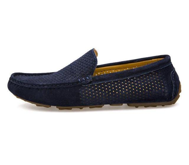Slip-on Driving Shoes Navy