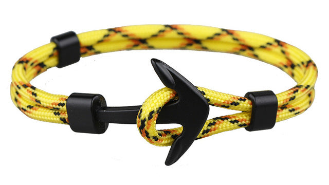 Rope Anchor Bracelet Yellow Multi