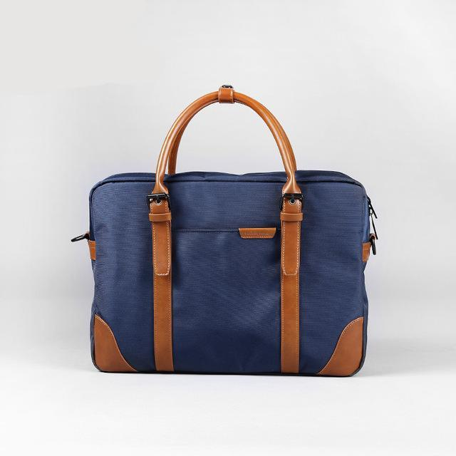 Waterproof Laptop Briefcase Blue