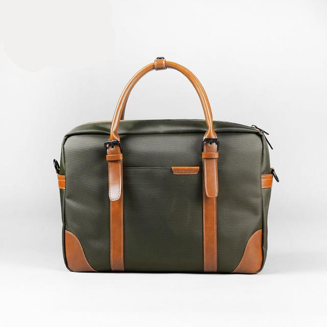 Waterproof Laptop Briefcase Green