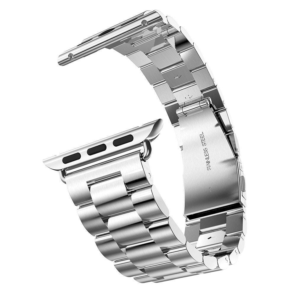 Stainless Steel Band for Apple Watch, 38MM, 42MM Silver