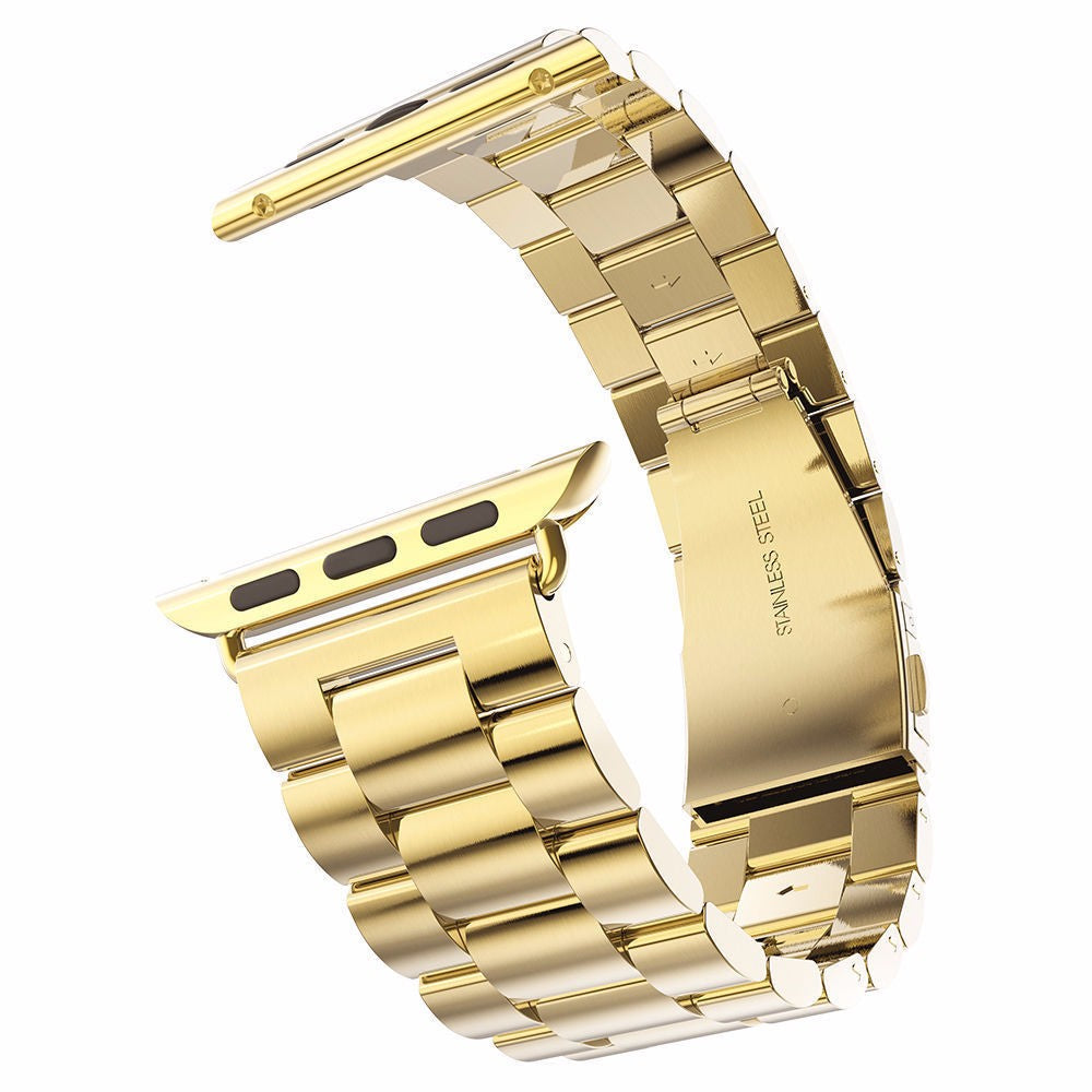Stainless Steel Band for Apple Watch, 38MM, 42MM Gold