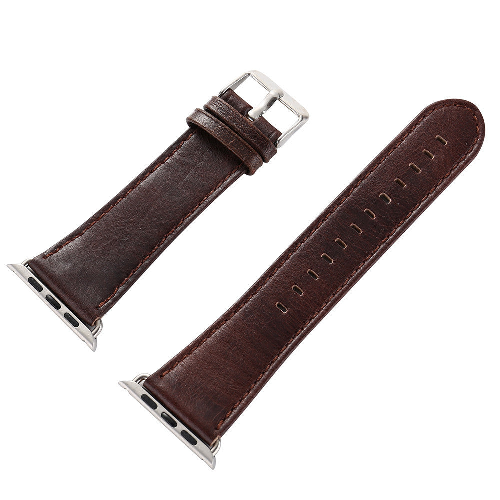 LEATHER WATCH BAND FOR APPLE WATCH 42MM OR 44MM
