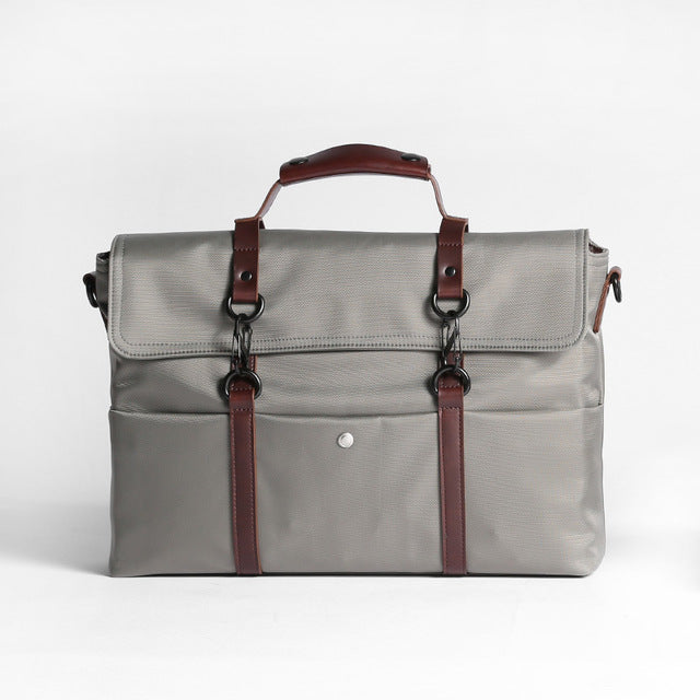14-inch Waterproof Laptop Briefcase Grey
