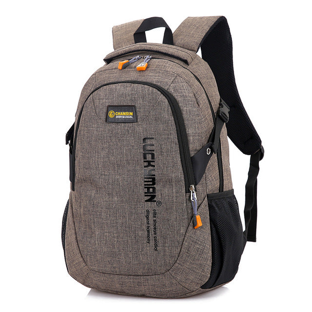 Computer Backpack Brown