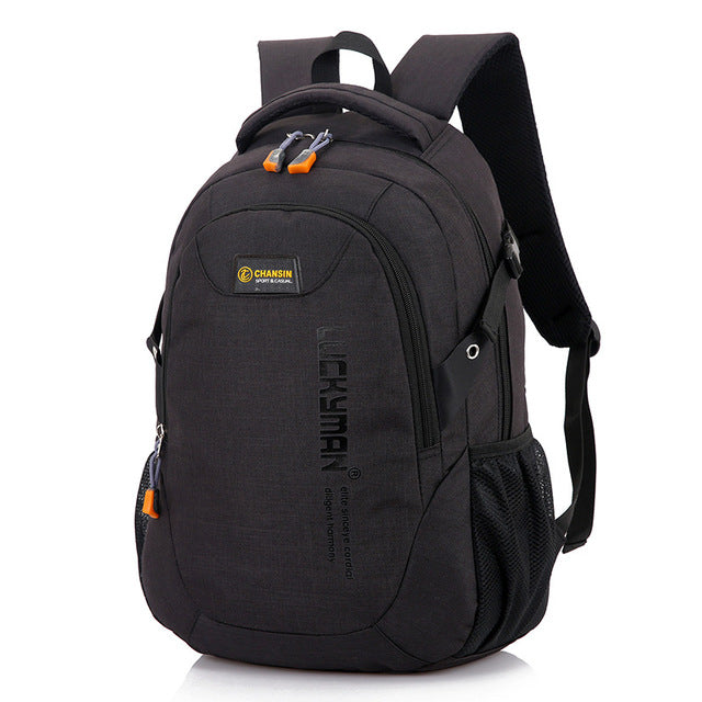 Computer Backpack Black Angle