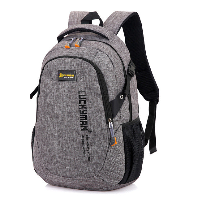 Computer Backpack Grey