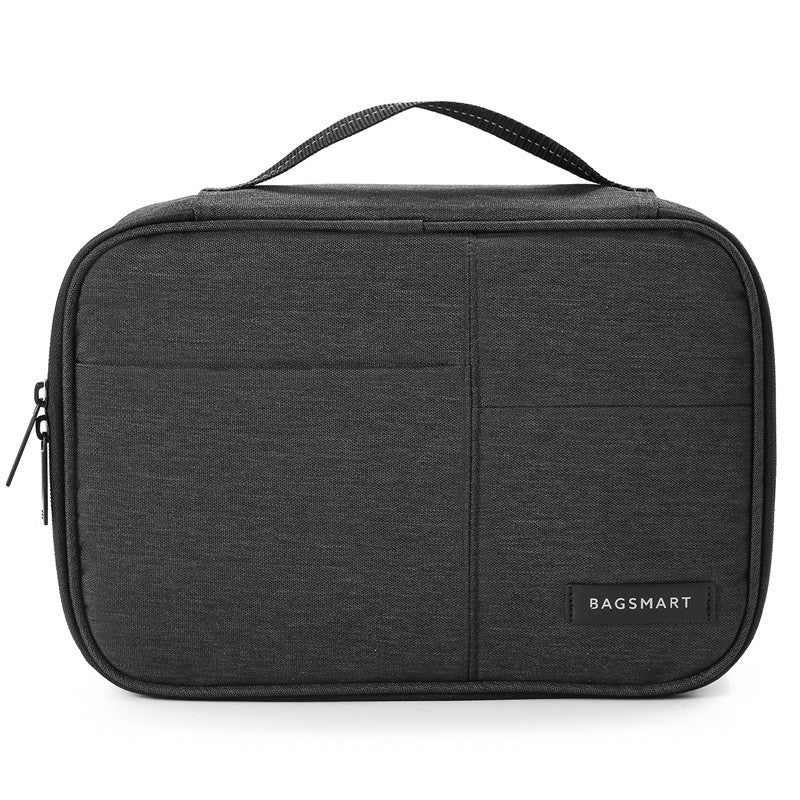 Waterproof Digital Accessories Travel Bag Black