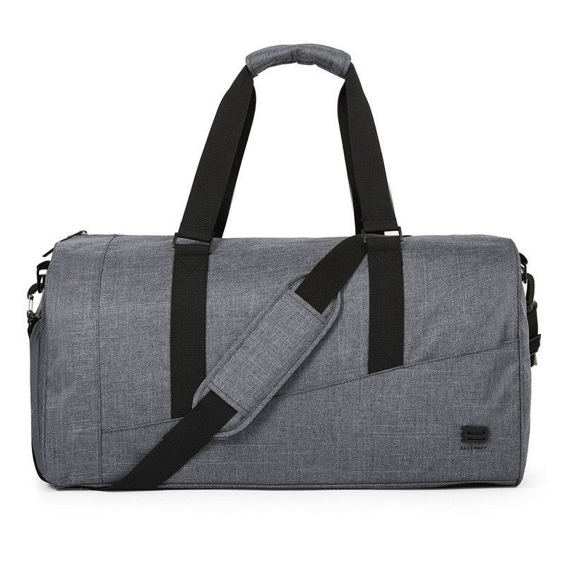 Nylon Travel Duffle Grey