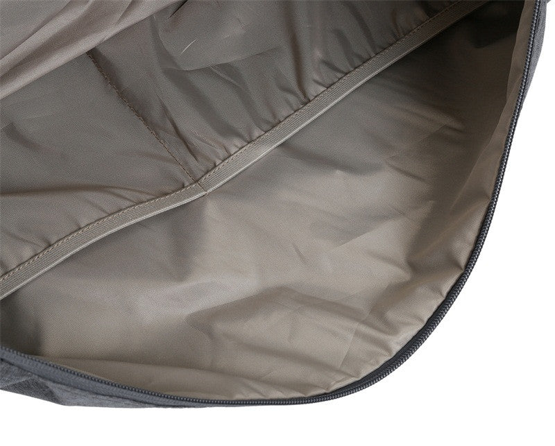Nylon Travel Duffle Open Bag Inside View
