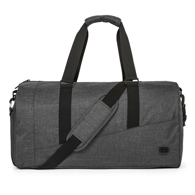 Nylon Travel Duffle Black