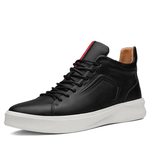 Modern High-Top Sneaker Black