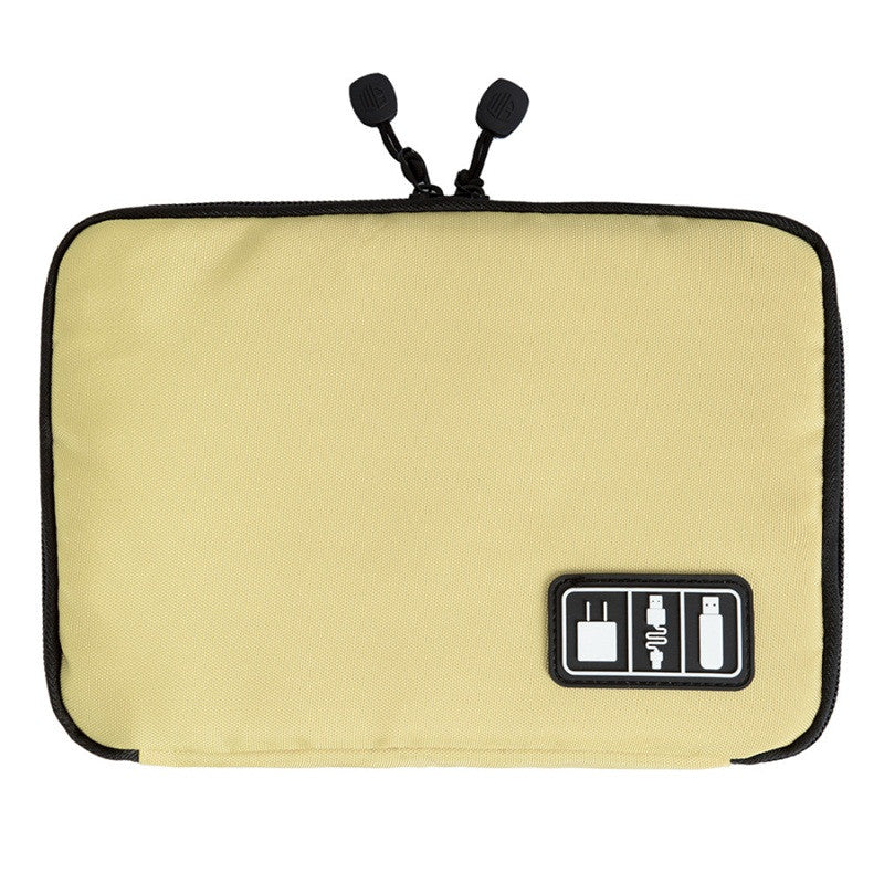 Slim Digital Accessories Organizer Gold