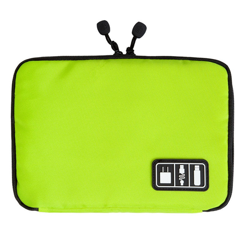 Slim Digital Accessories Organizer Green