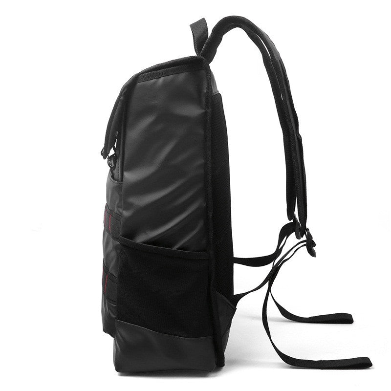 Waterproof Backpack Black Side