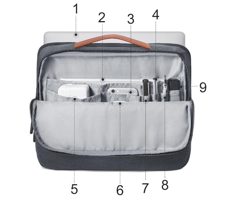 MODERN WATER RESISTANT LAPTOP BAG