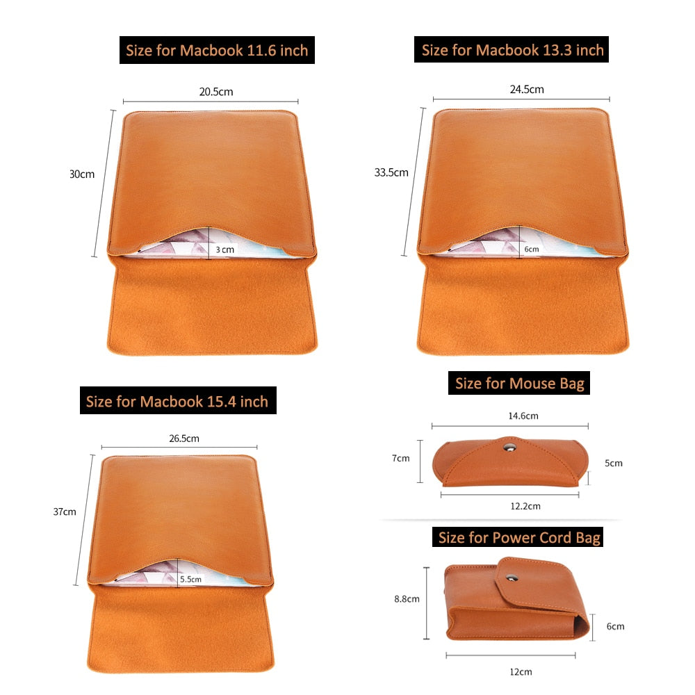TRAVEL LAPTOP SLEEVE & ACCESSORIES