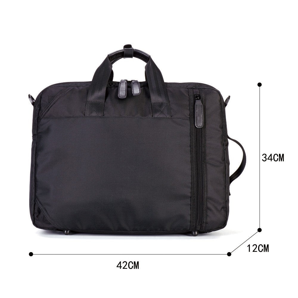 2-IN-1 LAPTOP BACKPACK & BRIEFCASE