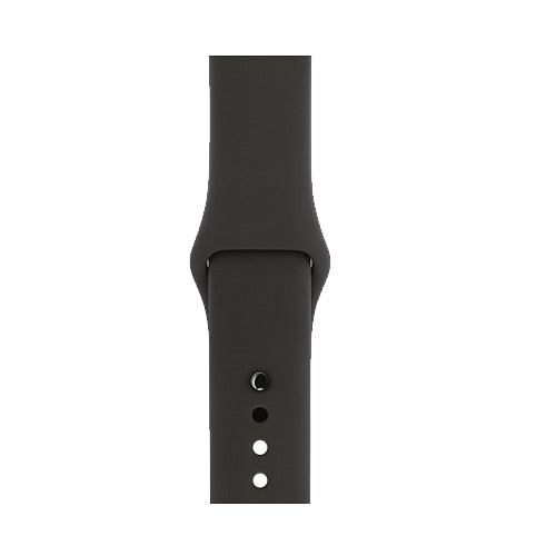 SILICONE STRAP FOR APPLE WATCH BAND FOR 38MM TO 44MM