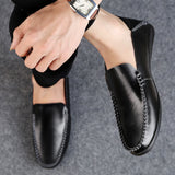 FIRENZE LEATHER LOAFERS