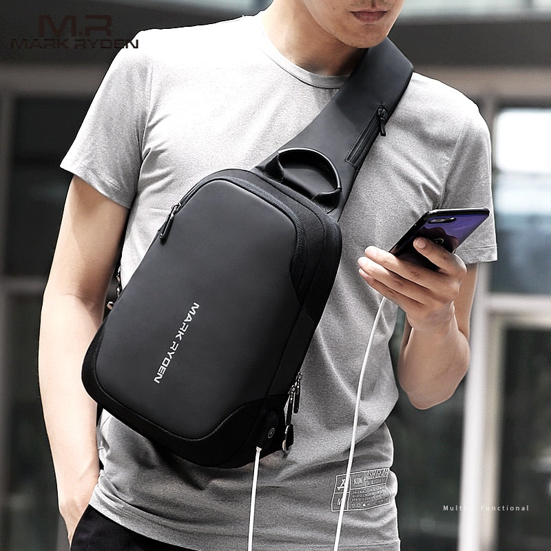 2.0 MODERN MARK RYDEN ANTI-THEFT SLING BAG