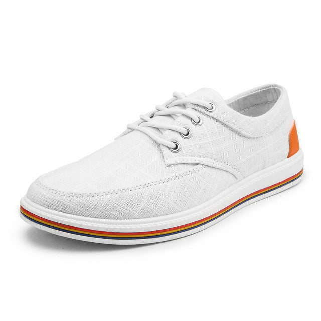 CAPE COD CANVAS BOAT SHOES