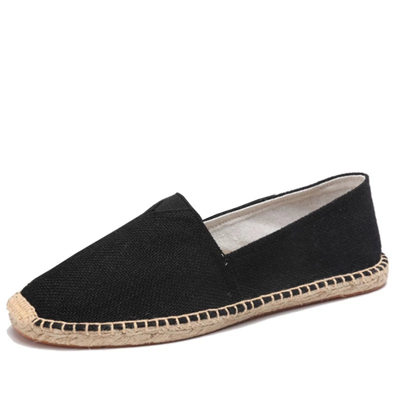 men's basic espadrille black main