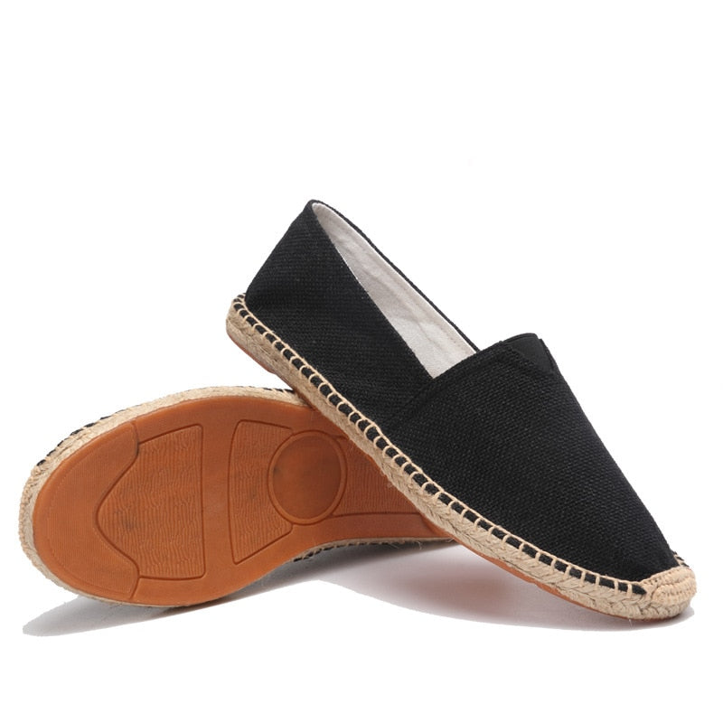 men's basic espadrilles black thumb