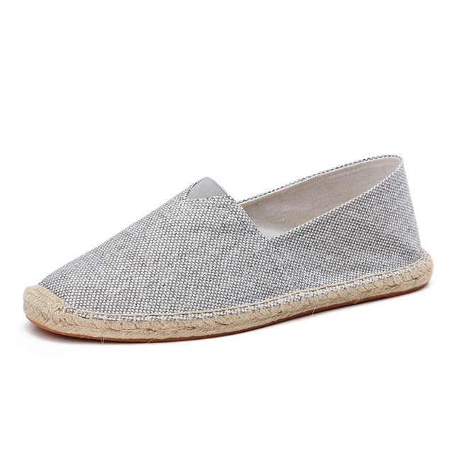 men's basic espadrilles grey single shoe thumb