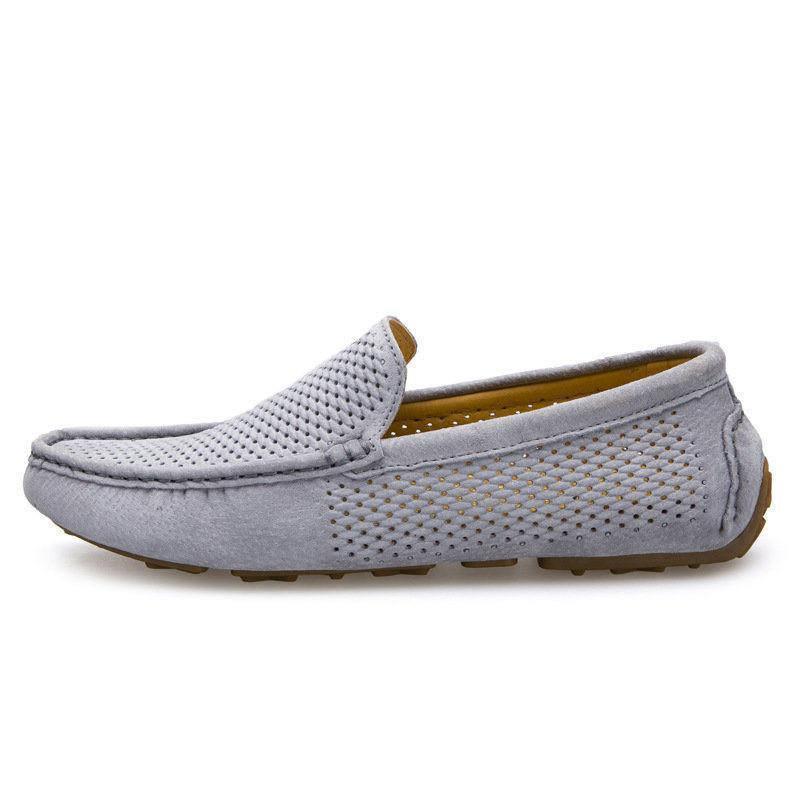 Slip-on Driving Shoes Grey