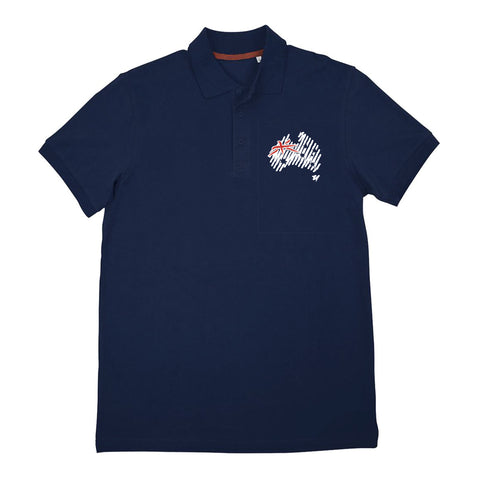 Men's Navy Polo T-Shirt
