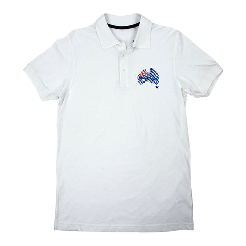 Men's White Polo T-Shirt