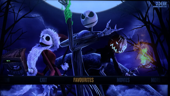 'Nightmare Before Christmas'  Fire Stick with Kodi 17.6