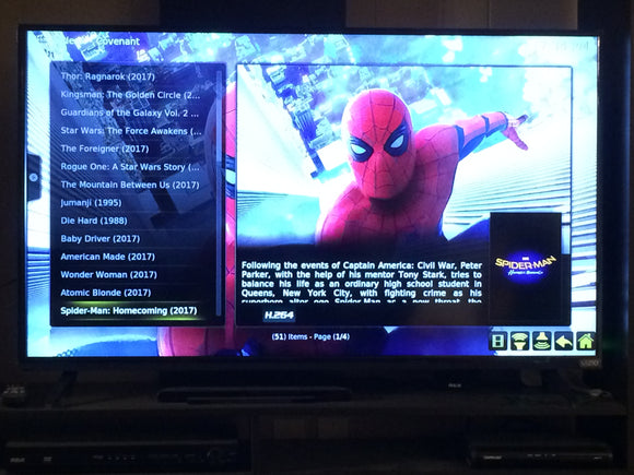 'Titanium'  Amazon Fire Stick With Kodi 17.6