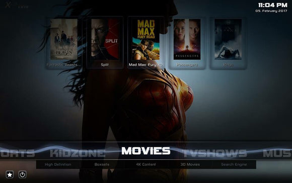 2-in-1 Ultimate Build Add-on Installation Service With Kodi 17.6