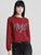 Nyc Embroidered Crop SweatShirt
