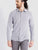Men's Grey Striped Dobby Shirt By leosansini.com