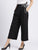 Front Pleated Side Tie-Ups Trousers