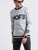 Contrast Detailed Rib Sweat-shirt