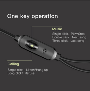 Baseus H04 Wired Earphone For Phone Stereo Sound Headset